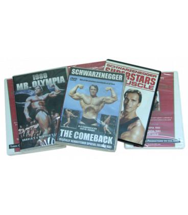 OFFRE: LOT DE 6 DVD DE ARNOLD X 30€