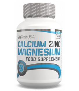 Minerales CALCIUM + ZINC + MAGNESIUM