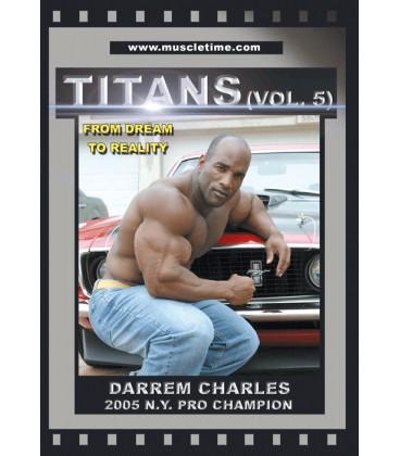 DVD TITANS V Darrem Charles