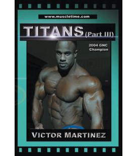 DVD Titans III - Víctor Martínez