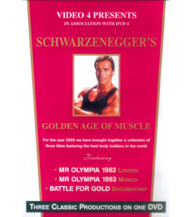 "DVD ARNOLD SCHWARZENEGGER ·Golden Age II"""