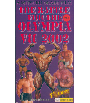 DVD THE BATTLE FOR THE OLYMPIA VII 2002