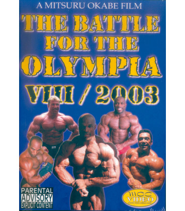 DVD THE BATTLE FOR THE OLYMPIA VII