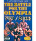 DVD THE BATTLET FOR THE OLYMPIA VII