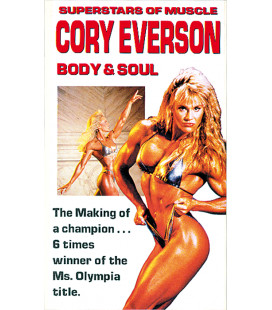 "DVD CORY EVERSON ""Super star of mucle"""