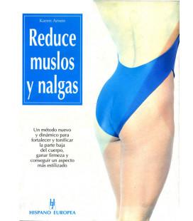 """Libro """"REDUCE MUSLOS Y NALGAS"""""""