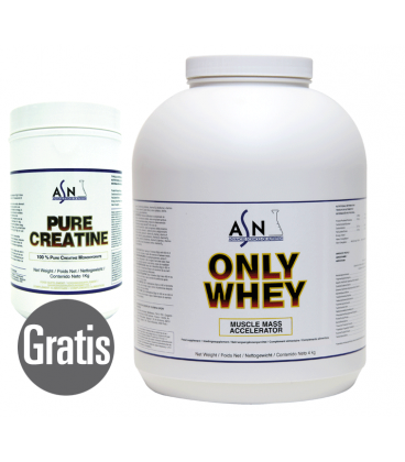Proteína ONLY WHEY 4KG + PURE CREATINE 1KG