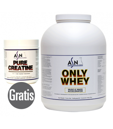 Proteína ONLY WHEY 2KG + PURE CREATINE 500GR