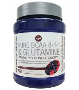 Aminoácidos PURE BCAA 8:1:1 + GLUTAMINE
