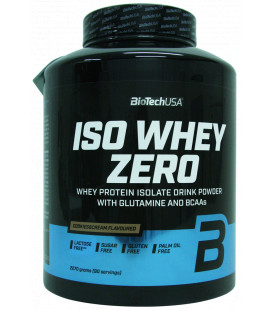 Protéine ISO WHEY ZERO