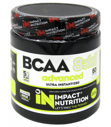 Aminoácidos INSTANT BCAA 8-1-1 ADVANCED
