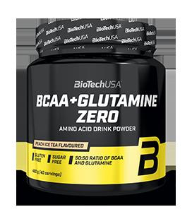 Aminoácidos BCAA + GLUTAMINA ZERO