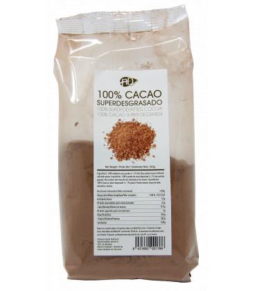 Cacao en polvo desgrasado