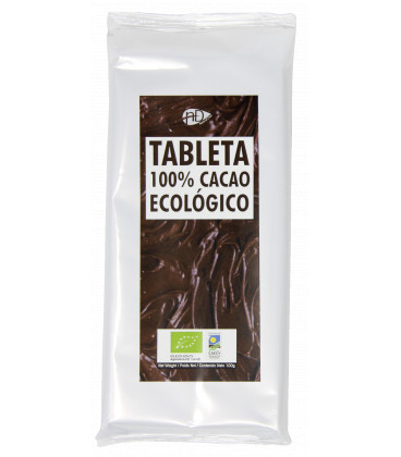 Tableta Cacao Desgrasado Bio