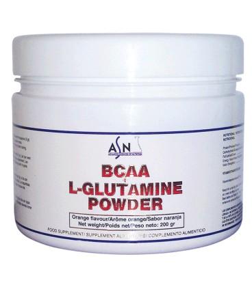 Aminoácidos BCAA+GLUTAMINE POWDER