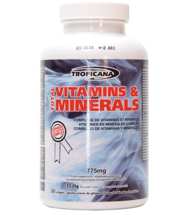 Antioxydants TOTAL VITAMINS & MINERALS